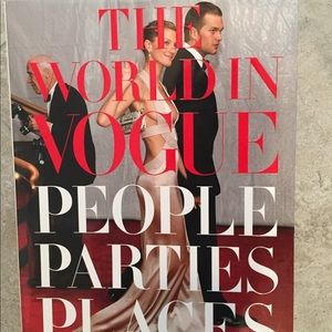 the world in vogue: people parties places book